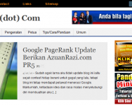 3 Blog Bahasa Melayu berstatus PR5