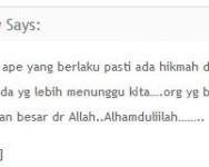 Plagiat Komen Bahasa Melayu semakin menjadi-jadi.