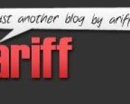 Blog Ariffshah.com pilihan bukan suatu kesilapan