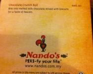 Nando's ada sijil halal Jakim