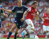 Stoke City vs Arsenal EPL 2012/13 Week #2