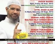Dr Zakir Naik Malaysian Tour 2012