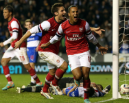 Wigan vs Arsenal EPL 2012/13 Week #18