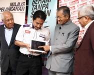 Tun Mahathir Lancar Portal ILHAM Karangkraf