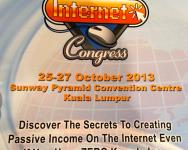 Asia Internet Congress peluang jadi jutawan senyap