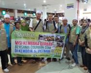 Pelaksanaan Ibadah Qurban 2013/1434H di Kemboja