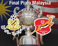 Final Piala Malaysia – Kelantan atau Pahang ?