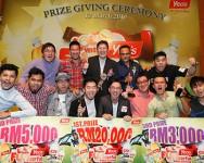 Majlis Penyampaian Hadiah Contest Funderful Video Yeo's