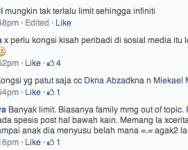 Batas bersosial di sosial media