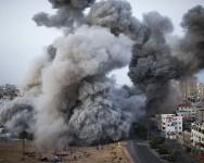 Gaza di robek Israel lagi