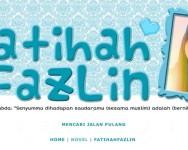 Review lengkap blog adik beradik Fatihah Fazlin