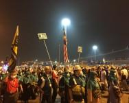 Suasana Jamarat pada Haji Akbar 2014