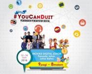 Program #YouCanDuit anjuran MDEC di Persada Johor Bahru : 12 – 14 Ogos.
