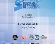 Pendaftaran Sepetang Bersama Blogger 2017