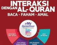 World #QuranHour perlukan hebahan dan kerjasama kita semua