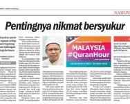 Malaysia #QuranHour : 9 Budaya Membina Tamadun
