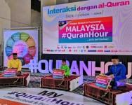 Malaysia #QuranHour 1439H/2018 bawakan Sejarah Tamadun Dunia