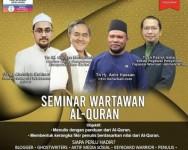 Seminar wartawan Al-Quran, 4 panel berkongsi rahsia penulisan