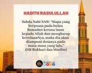 Keutamaan bersedekah di bulan Ramadan
