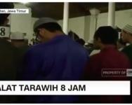 Solat tarawih, paling laju vs paling lama di dunia