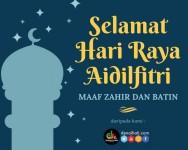 Denaihati Network mengucapkan Selamat Hari Raya Aidilfitri 1441H/2020M
