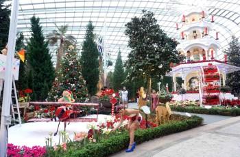 Christmas Wonderland at Gardens By The Bay :  stunning Italian luminaries, Christmas Toyland,