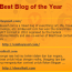 Best of the Best Blog Peluang Terakhir